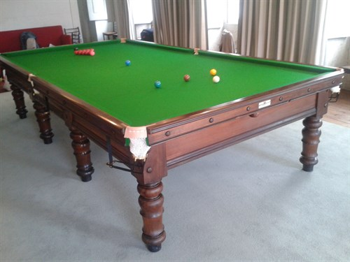 Billiard Table Refurbished