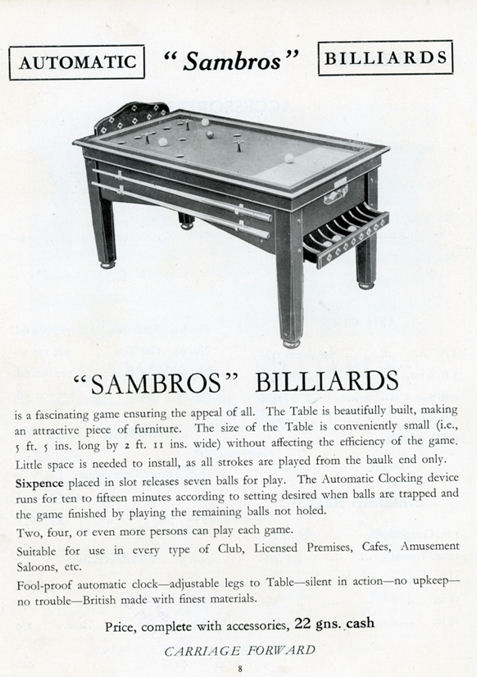 Sambros catalogue 1935 page 8