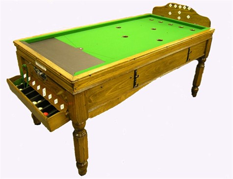 Jelks type 'B' Bar Billiard Table