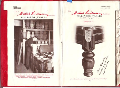 Walter Lindrum in Padmore catalogue