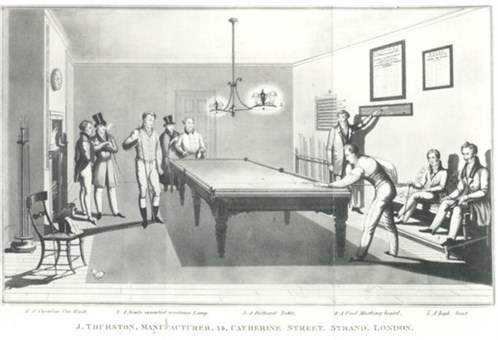 Thurston Billiard Match Room