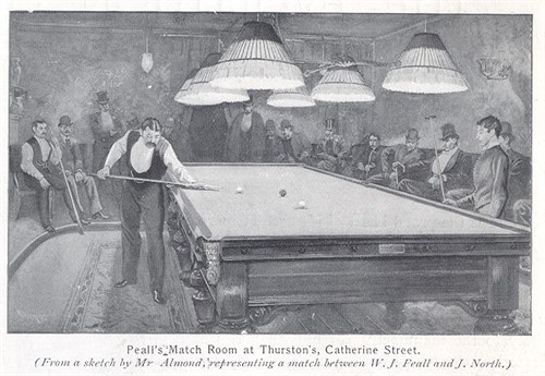 Thurston Match Room W.J. Peal v J. Northl