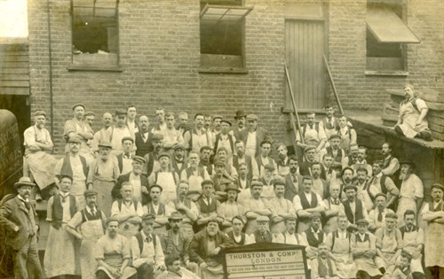 Thurston Billiard Works employees