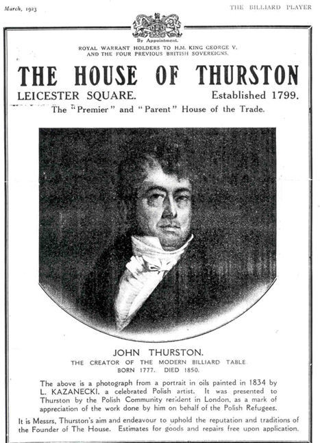 1932 Thurston advert
