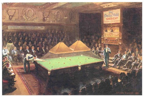 Thurston Match Room Leicester Square
