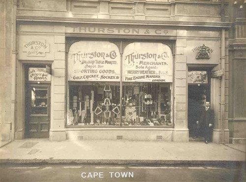 Thurston South Africa shop Cape Town