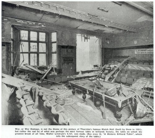 Thurston Match Room 1940