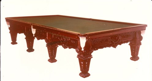 William Morris Billiard table