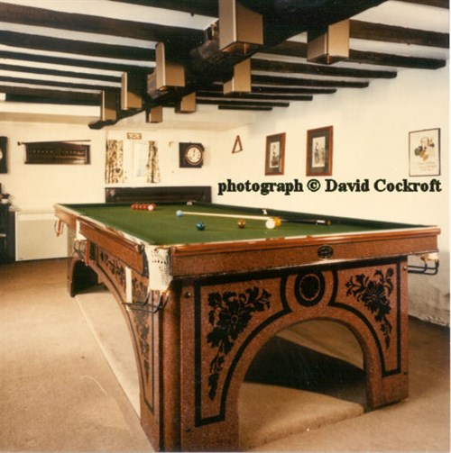 Billiard Table by Magnus