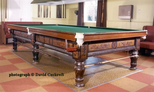 Magnus Billiard table _Collins