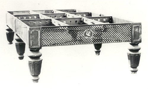 Marsden & saffley Casst Iron Billiard Table