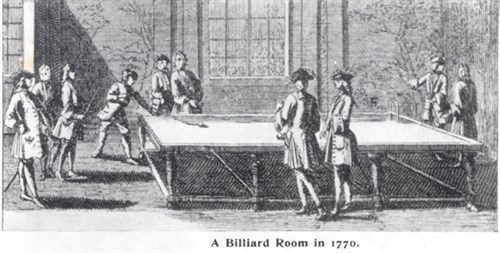 Billiard Room 1770