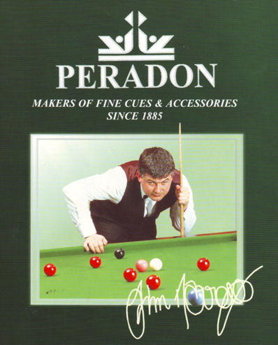 John Parrott World Snooker Champion
