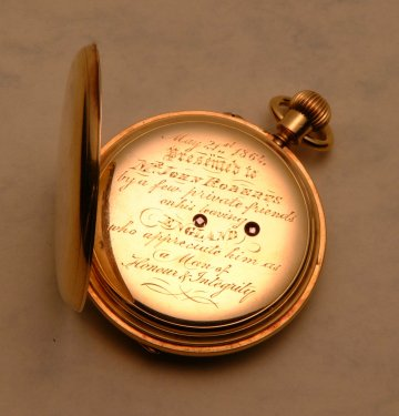 John Roberts Snr. WATCH ENGRAVING