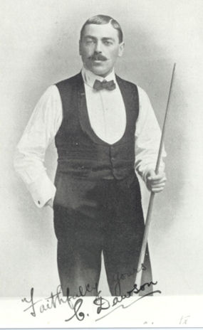 Charles Dawson Billiard player