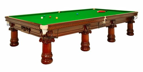 Georgian Snooker table restored by Thurston