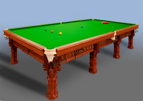 renovated Snooker Table