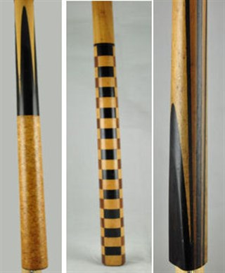 Unusual Billiard Cues